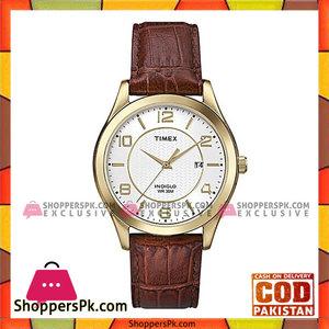 Timex Wrist Watch for Men  White