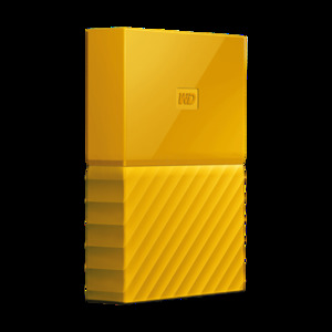 WD My Passport 2TB External USB 3.0 Portable Hard Drive  Yellow (WDBYFT0020BYL)