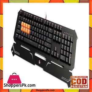 A4TECH Bloody Light Strike LK Optical Mechanical Gaming Keyboard Neon LED Black B740S