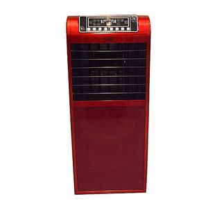 OMEGA Evaporative Room Air Cooler  Red with Ice Packs