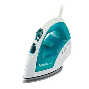 Branded Collection Panasonic NI-E410T Steam Iron Titanium Coating Plate blue