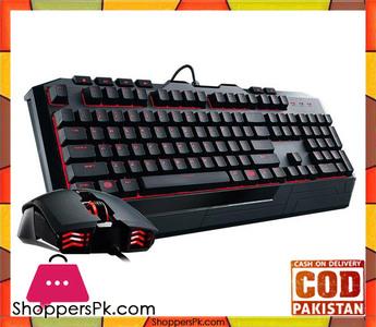 Cooler Master Devastator II Gaming Keyboard and Mouse Combo  Red LED (SGB-3031-KKMF1-US)