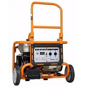 JASCO Jasco FG3900  3.5 Kva Self Start Gas and Petrol Generator  orange