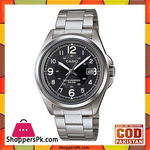 Casio MTP-S101D-1BVDF  Steel Analog Watch for Men  Black