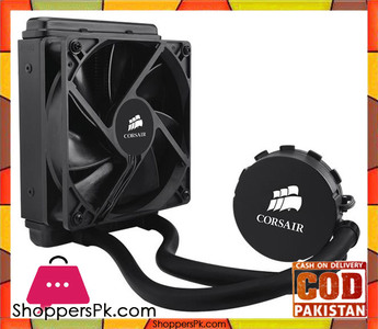 CORSAIR Hydro Series H55 Quiet Edition Water / Liquid CPU Cooler. 120mm  CW-9060010-WW