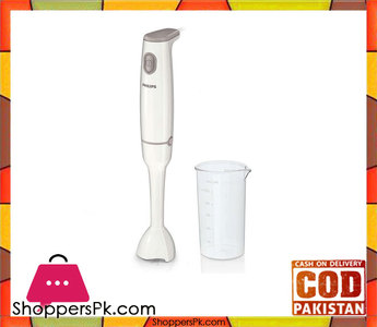 Philips HR1600/00  Daily Collection  Hand blender  ProMix 1 Speed  550 W (Brand Warranty)