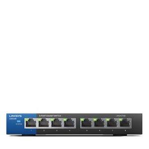 Linksys LGS108-UK 08-Ports Business Gigabit Unmanaged Desktop Switch