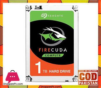 Seagate FireCuda Gaming SSHD 1TB 7200 RPM 64MB Cache SATA 6.0Gb/s 3.5 Internal Hard Drive ST1000DX002