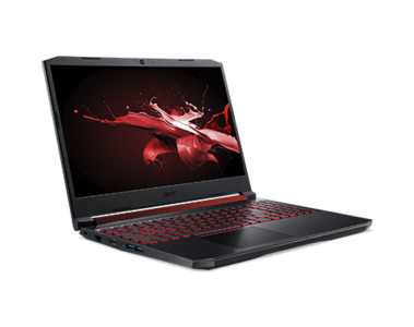 Acer Nitro 5 15  9th Gen Ci7 HexaCore Coffee Lake Processor 12GB 1-TB HDD +128GB SSD 4-GB Nvidia GeForce GTX1650 GDDR5 15.6 Full HD 1080p LED RED-Backlit KB W10