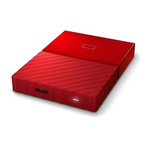 WD  My Passport 2TB External USB 3.0 Portable Hard Drive  Red (WDBYFT0020BRD)