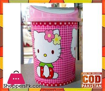 Hello Kitty Plastic Dustbin