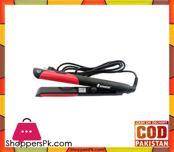 Shinon  8968  Straightener  Black & Red