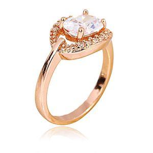 Golden 24-K Gold Plated Women Ring JP-11096