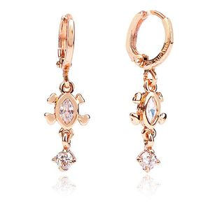 Rose Gold Plated Stylish Earrings  26001