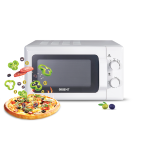 ORIENT Olive 20M Solo White Microwave Oven