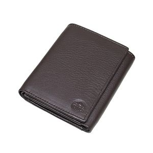Mens Leather Wallet  Steller Collection  Brown  CPW-16