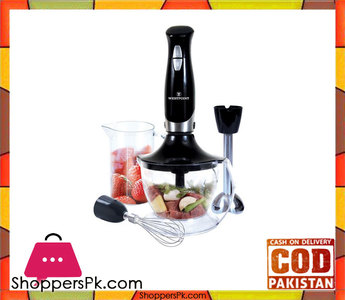 Westpoint WF-4201  Hand Blender, Chopper & Egg Beater  Black