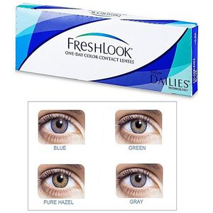 FreshLook FreshLook Green Soft Contact Lenses