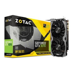 ZOTAC GeForce GTX 1070 Mini 8GB GDDR5 256-bit Video Graphics Card, ZT-P10700G-10M