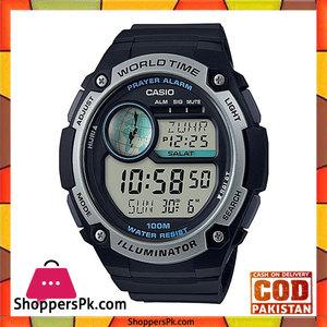 Casio Black Resin Watch for Men  CPA-100-1AVDF
