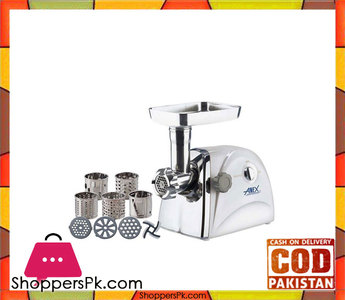 Anex Meat Grinder & Vegetable Cutter  White