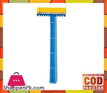 Ladies Corner Pack Of 6  Hygiene Razors  Blue And Yellow