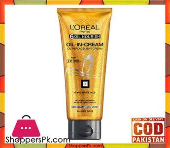 LOreal Paris 6 Oil Nourish Oil In Cream  200Ml