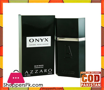 Azzaro Onyx Eau de Toilette 100ml