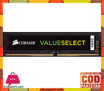 Corsair Value Select Memory  4GB (1x4GB) DDR4 2133MHz CL15 DIMM (CMV4GX4M1A2133C15)
