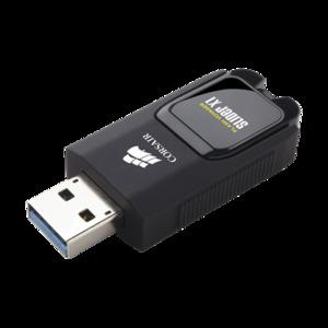 Corsair Flash Voyager Slider X1 USB 3.0 16GB USB Drive, CMFSL3X1-32GB