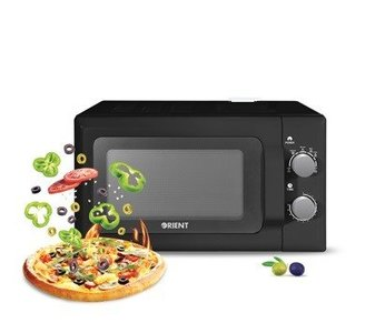 ORIENT Solo Type Microwave Oven OLIVE 20M Black