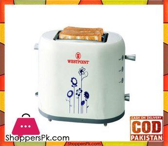 Westpoint WF-2550  Deluxe 2 Slice Pop-Up Toaster  White