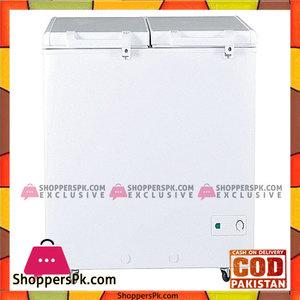 Haier Double Door Inverter Deep Freezer White HDF-385I