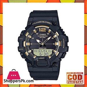 Casio Standard Black Watch for Men Hdc 700 9Avdf