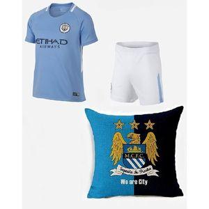 Kids Galaxy Kids Galaxy Pack of 3-Manchester City Football Kit & Cushion