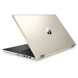 HP Pavilion x360 15-BR158CL, 8th Gen Ci7 8550U 8GB 1TB 2GB AMD Radeon 530 GC 15.6 FHD IPS Convertible Touchscreen Backlit KB Win10 (Silk Gold)