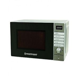 Westpoint WF838DG 25 ltr Deluxe Microwave Oven With Grill Silver