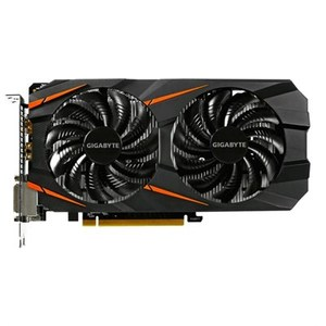 GIGABYTE GeForce GTX 1060 Windforce OC GV-N1060WF2OC-6GD 6GB Video Card