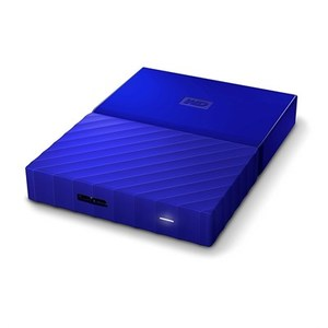 WD  My Passport 2TB External USB 3.0 Portable Hard Drive  Blue (WDBYFT0020BBL)