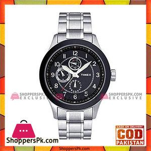 Timex Black Chronograph Quartz Watch For Men