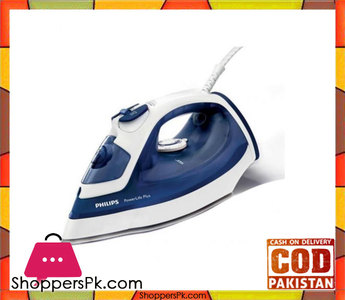 Philips Powerlife Plus Iron Blue & White