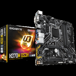 Gigabyte H370M DS3H Intel H370 Ultra Durable Motherboard