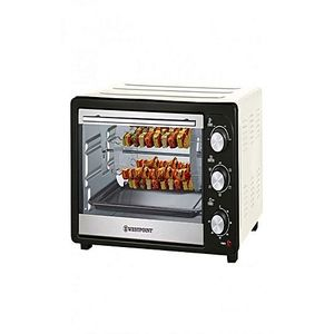 Westpoint Official Westpoint WF2610 RK Rotisserie Oven with Kebab Grill 1500 Watts White