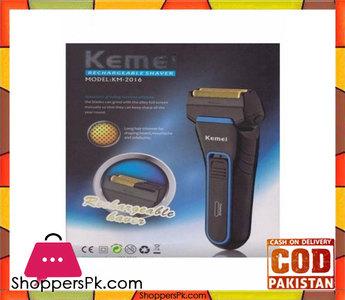 Kemei Km-2016  Double Razor Shaver  Black