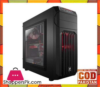 Corsair Carbide Series® SPEC-01 Red LED Mid-Tower Gaming Case (CC-9011050-WW)