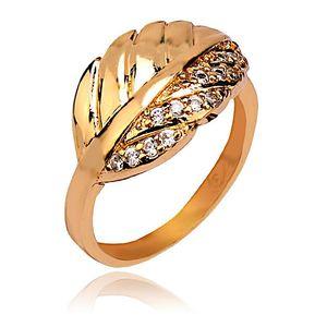 18-K Gold Plated Stylish Ring  11073