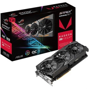 Asus ROG-STRIX-RXVEGA56-O8G-GAMING ROG Strix RX VEGA56 OC Edition 8GB Graphics Card