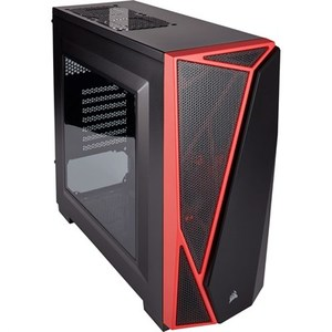 Corsair Carbide Series® SPEC-04 Mid-Tower Gaming Case  Black/Red (CC-9011107-WW)