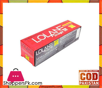 Lolane  Hair Straightening Cream  250Gm