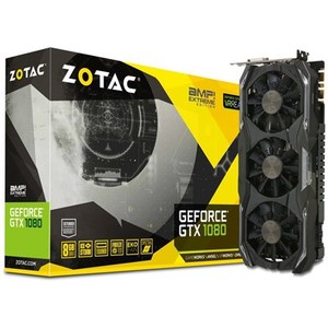 ZOTAC GeForce® GTX 1080 AMP Extreme 8GB 256BIT GDDR5X Graphics Card (ZT-P10800B-10P)